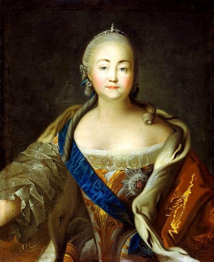 императрица Елизавета Петровна ( 1709-1761)