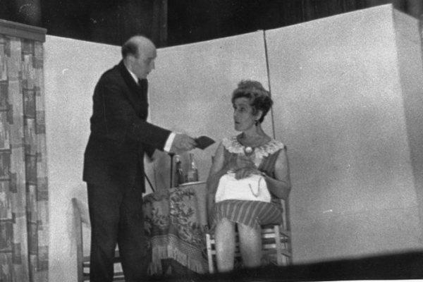 М. Зарудный «Рим, 17 до востребования». 1972 год. Свекровь – Е. Линде, Жених – В. Величкин