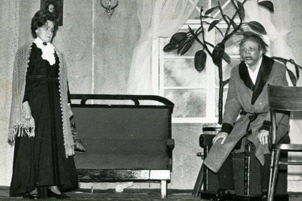 М. Горький «Васса Железнова», 1971 год. Васса – Г. Линде, Железнов – В. Величкин